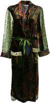 Pierre Louis Mascia Pierre-Louis Mascia - belted long coat