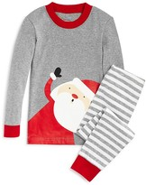 Sara's Prints Infant Unisex Striped Santa Pajama Set - Sizes 3-24 Months