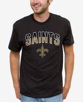 Junk Food Clothing Men's New Orleans Saints Split Arch T-Shirt