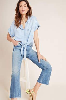 Cloth & Stone Tie-Front Chambray Buttondown