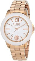 Versus By Versace Women's 'Abbey Road' Quartz Stainless Steel Casual Watch, Color:Rose Gold-Toned (Model: SCC070016)