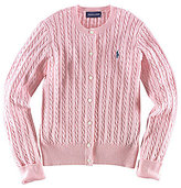 Ralph Lauren Big Girls 7-16 Cardigan Sweater