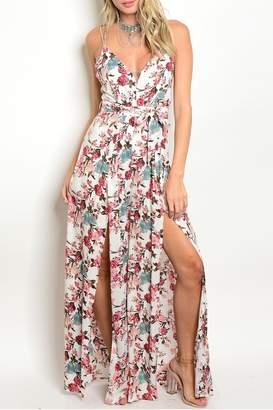 Cals Floral Strap Jumpsuit