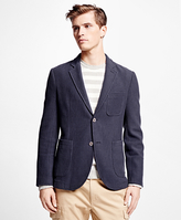 Brooks Brothers Stripe Knit Blazer