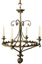HomArt Antique Green Tuileries Chandelier