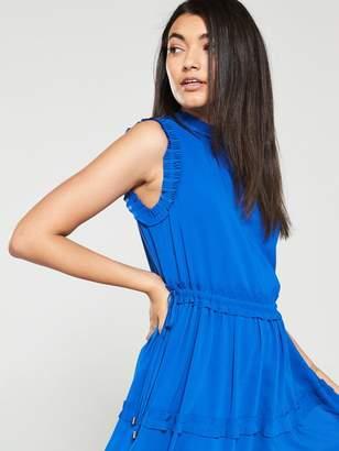 Ted Baker Sinita Tie Waist Midi Dress - Blue