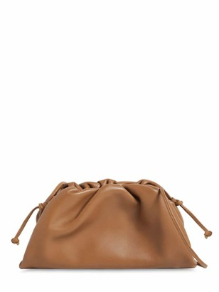 Bottega Veneta The Mini Pouch Smooth Leather Clutch