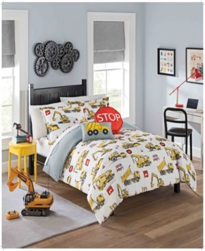 Waverly Kids Under Construction Twin Bedding Collection, 2 Piece Bedding