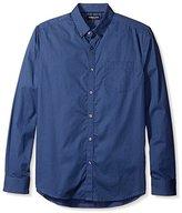 Kenneth Cole New York Men's Long Sleeve Dot Shirt