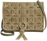 Nanette Lepore Leather Crossbody Clutch
