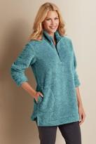 Women Luxe Sherpa Pullover