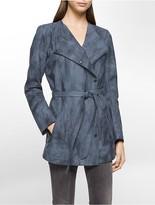 Calvin Klein Marble Tie Trench Coat