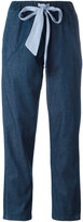Semi-Couture Semicouture - tapered jeans - women - Cotton - 30