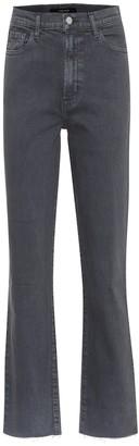 J Brand Jules high-rise straight jeans