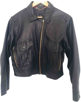 Marc by Marc Jacobs Black Leather Jackets