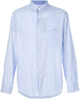 Paul & Shark classic long sleeve shirt - men - Cotton/Linen/Flax - 39