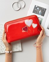 Ted Baker Heart Applique Toiletry Bag