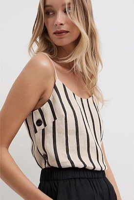 Witchery Side Button Cami
