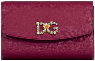 Dolce & Gabbana Pink Girl Crossbody Wallet