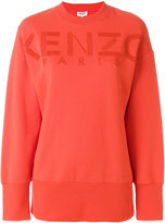 Kenzo Paris sweatshirt - women - Cotton/Acrylic/Wool - S
