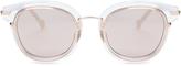Christian Dior Origins2 mirrored sunglasses