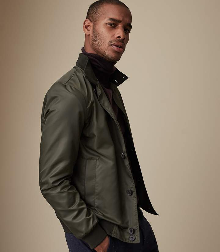 Reiss Heck Funnel Neck Jacket