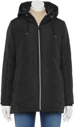 Details Women's Diamond Quilt Puffer Jacket