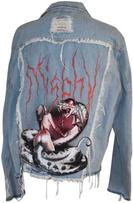 Misbhv Blue Cotton Jackets