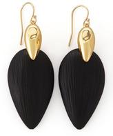 Alexis Bittar Neo Boho Lucite Marquise Earrings, Black