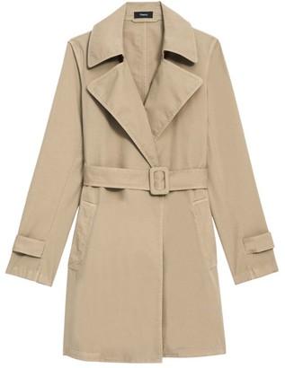 Theory Oaklane Trench Coat