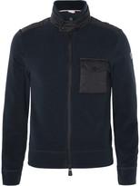 Moncler Grenoble - Shell-trimmed Fleece Zip-up Base Layer