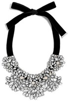 BaubleBar Women's Crystal Shatter Statement Necklace