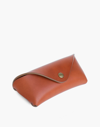 Madewell MAKR Leather Tab Eyewear Case
