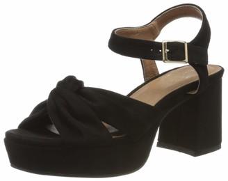 El Caballo El Horse Motillejo Women's Heel Shoe Black Size: 8 UK