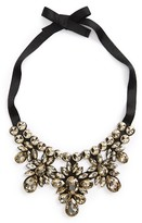Topshop Women's Crystal Statement Necklace