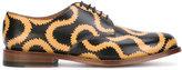 Vivienne Westwood printed Derby shoes - men - Leather - 40