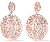 Aurelie Bidermann Lace Rose Gold-plated Earrings