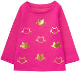 Gymboree Pink Cat Foil-Patch Sweater - Infant & Toddler