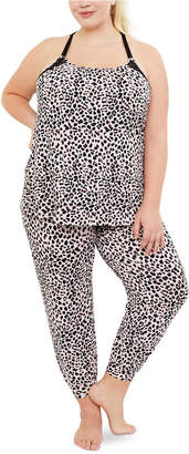Jessica Simpson Maternity Nursing Pajama Set