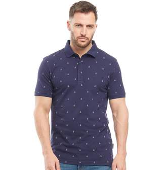 Peter Werth Mens Ahoy Polo Navy