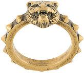 Gucci feline head ring