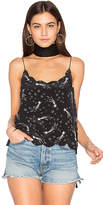 Equipment Kate Moss for Paola Star Cami in Black. - size L (also in S,XS)