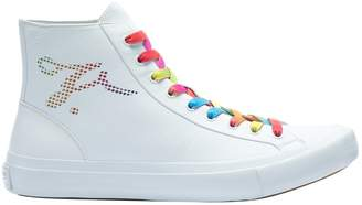 Louis Vuitton \N White Leather Trainers
