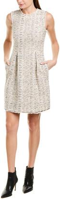 Rebecca Taylor Tweed A-Line Dress