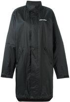 Alyx logo print windbreaker coat
