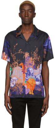 Double Rainbouu Black Animal Kingdom Shirt