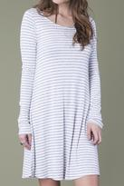 Others Follow Striped Swing Dress