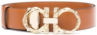 Salvatore Ferragamo Gancini leather belt