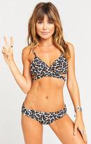 MUMU Beach Club Bikini Bottom ~ Cheetah Club