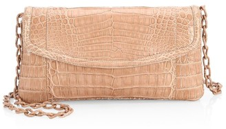 Nancy Gonzalez Tracy Crocodile Clutch